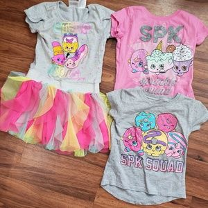 Shopkin Top Bundle Girls 5/6